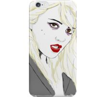 Sky Ferreira iPhone Case/Skin