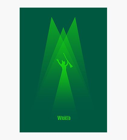 Wicked - Elphaba's Defying Gravity Photographic Print