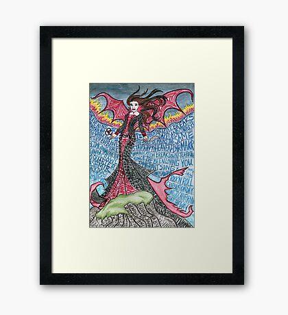 Psychedelic LZ Framed Print