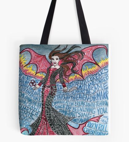 Psychedelic LZ Tote Bag