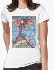 Psychedelic LZ Womens Fitted T-Shirt