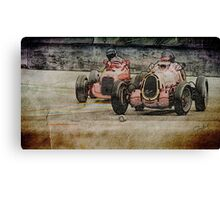 Dual at Turn 11 Canvas Print