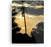 Where Does Your Power Comes From? Metal Print