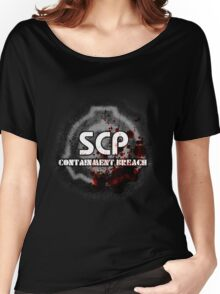 SCP Containment Breach Logo Women's Relaxed Fit T-Shirt