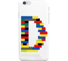"""""""D"""" iPhone Case/Skin"""