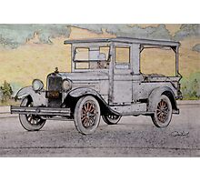 1928 Chevrolet 'Produce' Delievery Truck Photographic Print