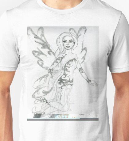 Ornate Baroque Fairy Unisex T-Shirt