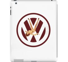 Volkswagen Pin-up (red) iPad Case/Skin