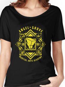 Angel Grove Martial Arts Academy MMPR Power Rangers Women's Relaxed Fit T-Shirt