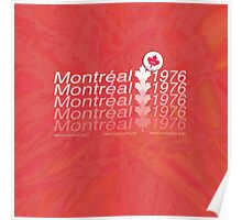 montreal 1976 Poster