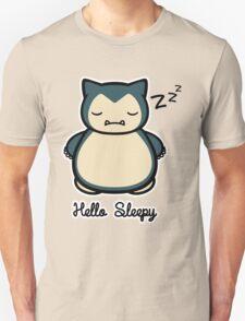 Snorlax Hello Kitty Hello Sleepy T-Shirt