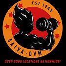 Saiyan Gym dbz Shirt by pierceistruth