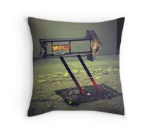 Right Direction Throw Pillow