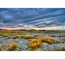 Dry Lake Bed - Color Photographic Print