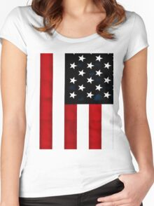 God Bless The USA Women's Fitted Scoop T-Shirt