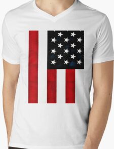 God Bless The USA Mens V-Neck T-Shirt