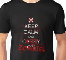Keep Calm and Kill Zombies Resident Evil  Unisex T-Shirt