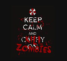 Keep Calm and Kill Zombies Resident Evil  T-Shirt