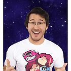 Markiplier Galaxy Case (Design #1) by PastelCandy