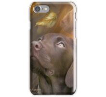 Lab In Autumn iPhone Case/Skin