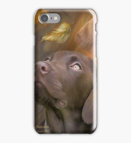 Lab In Autumn iPhone Case/Skin