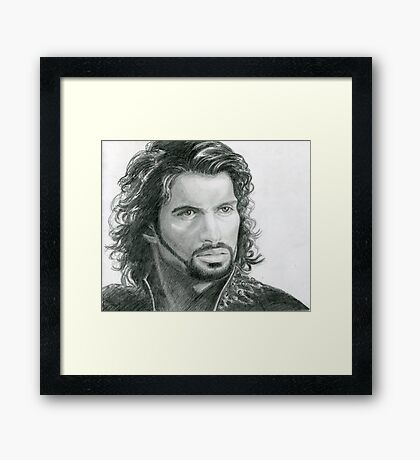 Ares, God Of War Framed Print