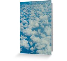 Clouds Over Earth Greeting Card