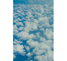 Clouds Over Earth Photographic Print