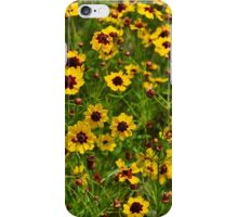 A field of flowers  iPhone Case/Skin