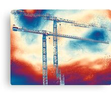 Towering 3 Canvas Print