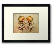 fairy dance Framed Print