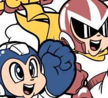 Super Mega Bros Megaman Protoman Sticker