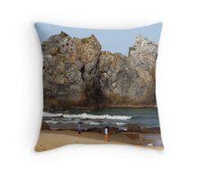 Camel Rock at Bermagui Throw Pillow