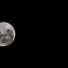 The full moon, the main moon by T-Pot