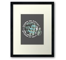 Dead Space Stomp it Out Framed Print