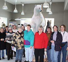 Porcupine Art Club visit Polar Bear Habitat by eoconnor