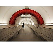 Waterloo & City Photographic Print