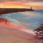 Sunset Walk by Elaine Green