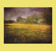 Painted Fields of Yellow Kids Tee
