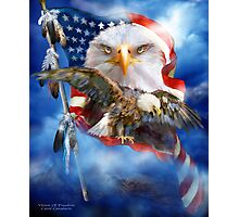 Eagle - Vision Of Freedom Photographic Print