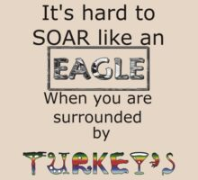 Eagle/Turkey Shirt by Craig Stronner