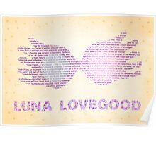 Luna Lovegood Spectrespecs Poster