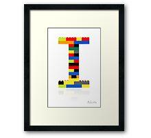 """""""I"""" Framed Print"""