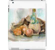 Onions, plonk and old potato sack... iPad Case/Skin