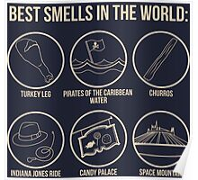 Best Smells In the World Poster