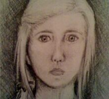 Self Portrait by Meg Nicholson