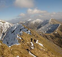 County Kerry mountains by John Quinn