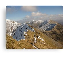 County Kerry mountains Canvas Print