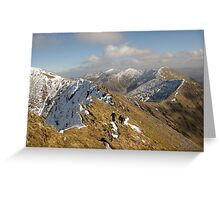 County Kerry mountains Greeting Card
