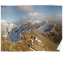 County Kerry mountains Poster